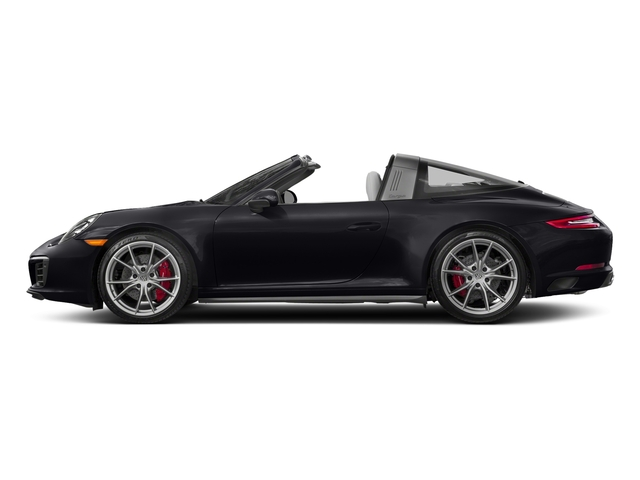 Jet Black Metallic 2018 Porsche 911 Pictures 911 Targa 4 GTS photos side view