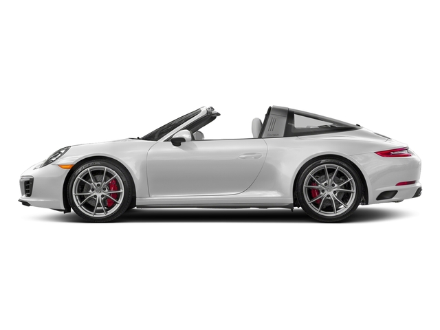 Carrara White Metallic 2018 Porsche 911 Pictures 911 Targa 4 GTS photos side view