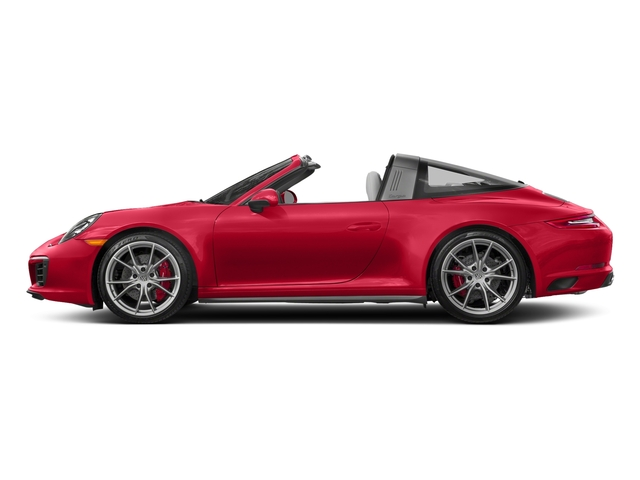 Guards Red 2018 Porsche 911 Pictures 911 Targa 4 GTS photos side view
