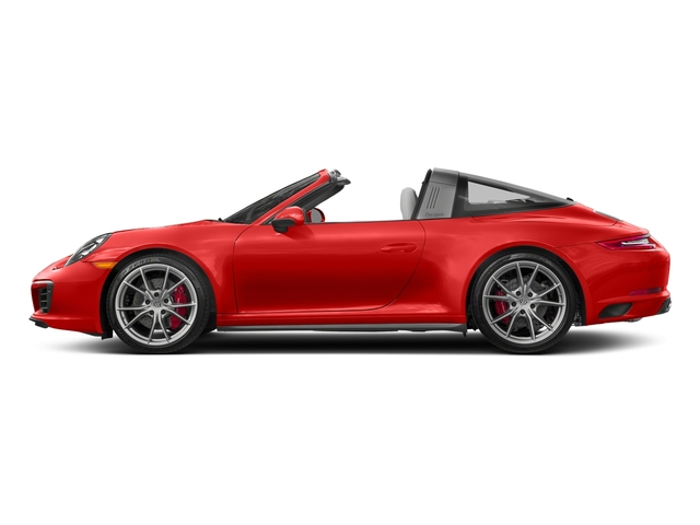 Lava Orange 2018 Porsche 911 Pictures 911 Targa 4 GTS photos side view