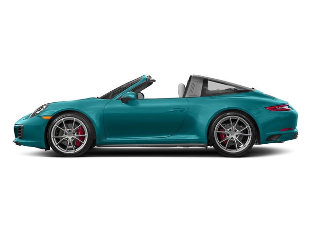 Miami Blue 2018 Porsche 911 Pictures 911 Targa 4 GTS photos side view
