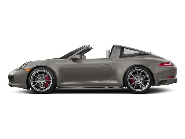 Agate Grey Metallic 2018 Porsche 911 Pictures 911 Targa 4 GTS photos side view