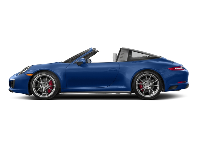 Sapphire Blue Metallic 2018 Porsche 911 Pictures 911 Targa 4 GTS photos side view