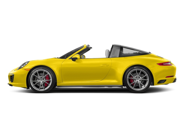 Racing Yellow 2018 Porsche 911 Pictures 911 Targa 4 GTS photos side view