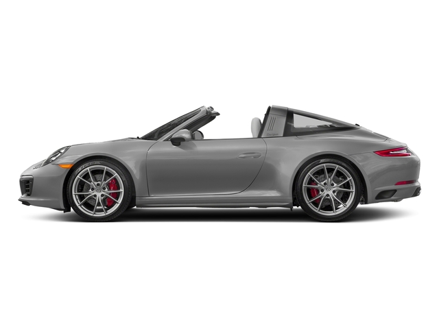 Rhodium Silver Metallic 2018 Porsche 911 Pictures 911 Targa 4 GTS photos side view