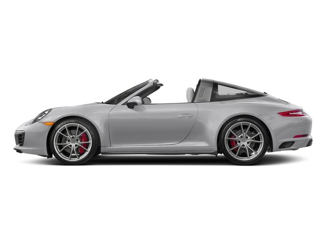 GT Silver Metallic 2018 Porsche 911 Pictures 911 Targa 4 GTS photos side view
