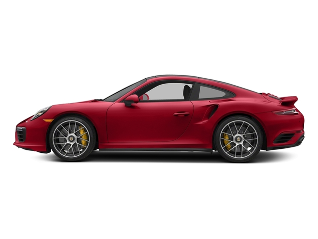 Carmine Red 2018 Porsche 911 Pictures 911 Turbo S Coupe photos side view