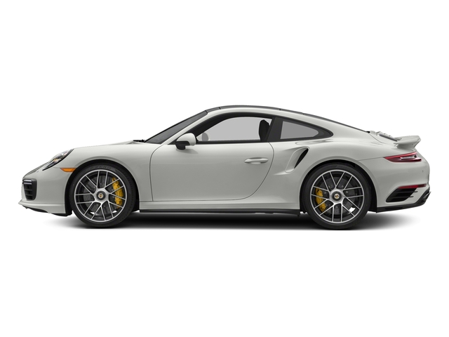 White 2018 Porsche 911 Pictures 911 Turbo S Coupe photos side view
