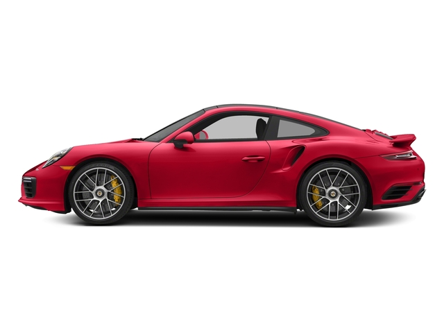 Guards Red 2018 Porsche 911 Pictures 911 Turbo S Coupe photos side view