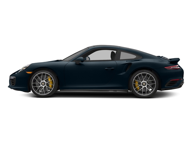 Night Blue Metallic 2018 Porsche 911 Pictures 911 Turbo S Coupe photos side view