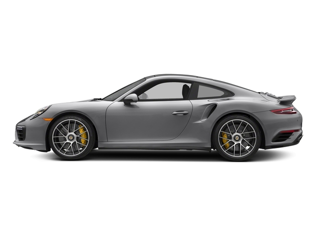 GT Silver Metallic 2018 Porsche 911 Pictures 911 Turbo S Coupe photos side view