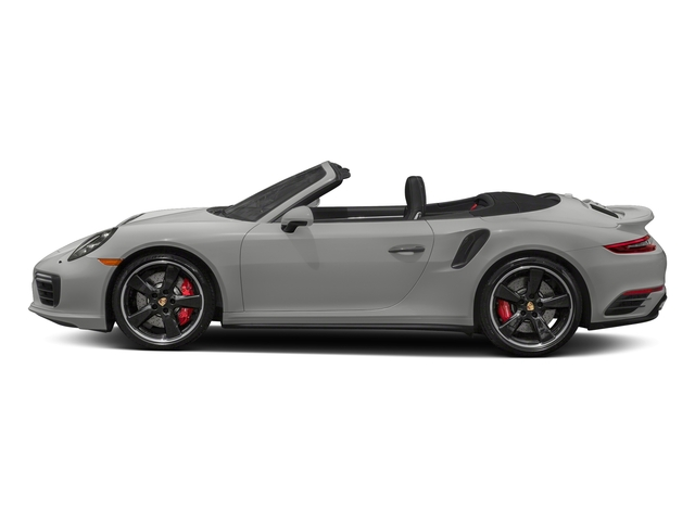 Chalk 2018 Porsche 911 Pictures 911 Turbo Cabriolet photos side view