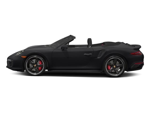 Black 2018 Porsche 911 Pictures 911 Turbo Cabriolet photos side view