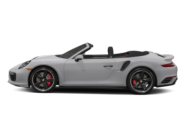 GT Silver Metallic 2018 Porsche 911 Pictures 911 Turbo Cabriolet photos side view