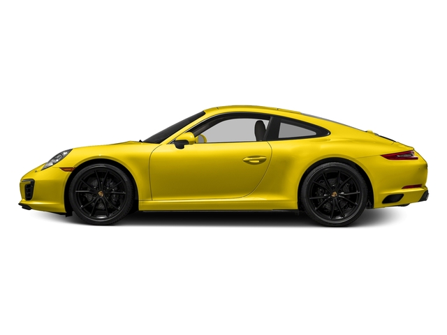 Racing Yellow 2018 Porsche 911 Pictures 911 Carrera Coupe photos side view