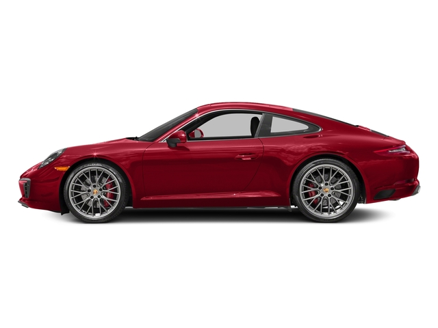 Carmine Red 2018 Porsche 911 Pictures 911 Carrera S Coupe photos side view
