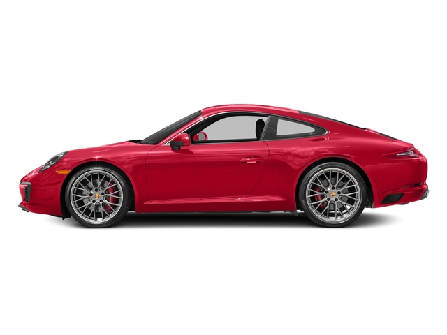 Guards Red 2018 Porsche 911 Pictures 911 Carrera S Coupe photos side view