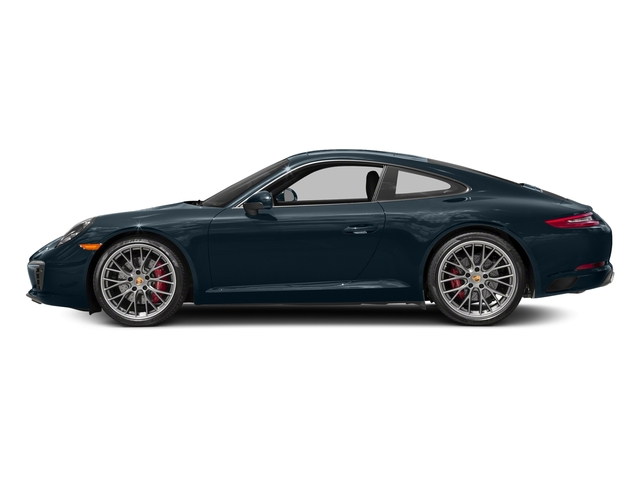 Night Blue Metallic 2018 Porsche 911 Pictures 911 Carrera S Coupe photos side view