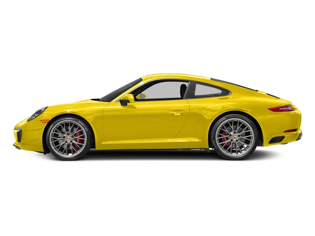 Racing Yellow 2018 Porsche 911 Pictures 911 Carrera S Coupe photos side view