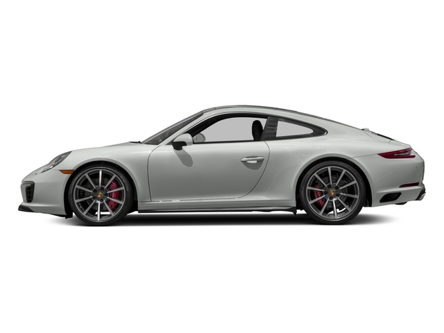 White 2018 Porsche 911 Pictures 911 Carrera 4S Coupe photos side view