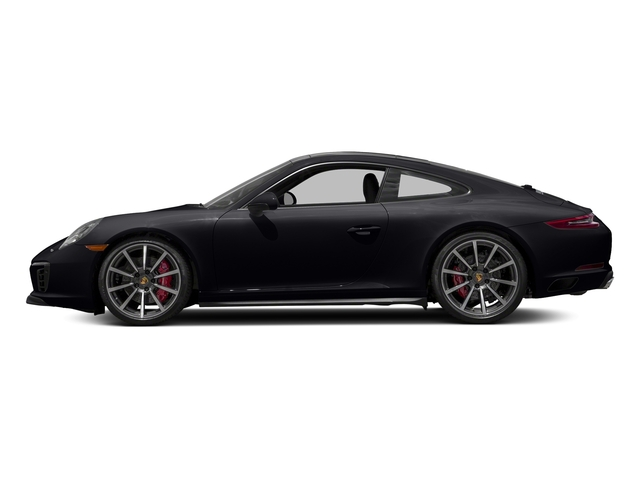 Jet Black Metallic 2018 Porsche 911 Pictures 911 Carrera 4S Coupe photos side view