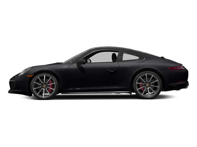 Black 2018 Porsche 911 Pictures 911 Carrera 4S Coupe photos side view