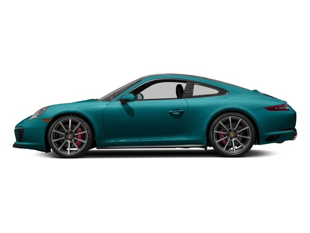 Miami Blue 2018 Porsche 911 Pictures 911 Carrera 4S Coupe photos side view