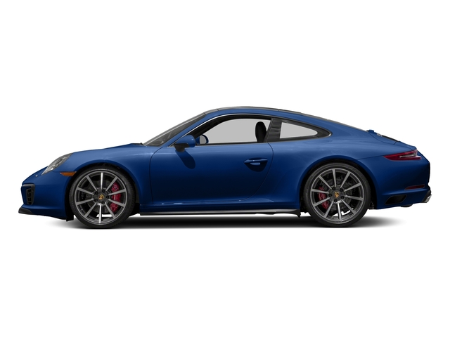 Sapphire Blue Metallic 2018 Porsche 911 Pictures 911 Carrera 4S Coupe photos side view