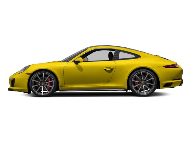 Racing Yellow 2018 Porsche 911 Pictures 911 Carrera 4S Coupe photos side view