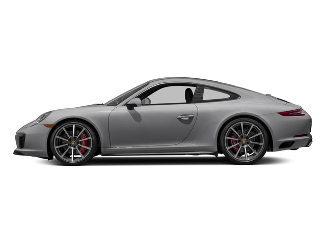 GT Silver Metallic 2018 Porsche 911 Pictures 911 Carrera 4S Coupe photos side view