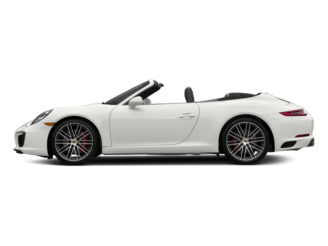 White 2018 Porsche 911 Pictures 911 Carrera S Cabriolet photos side view