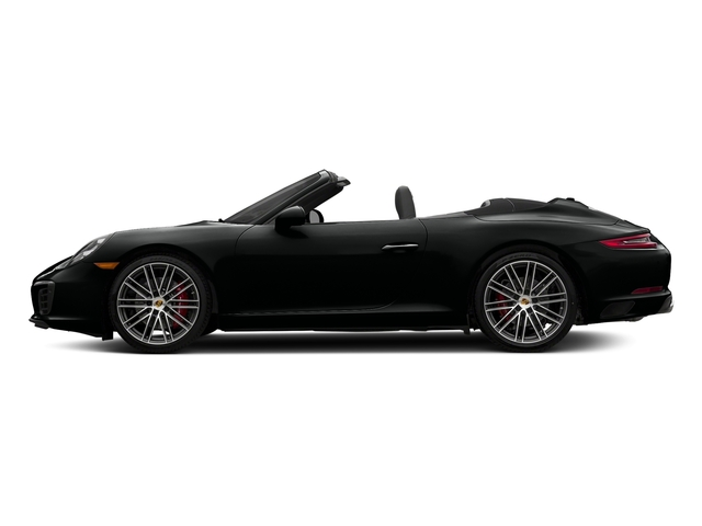 Jet Black Metallic 2018 Porsche 911 Pictures 911 Carrera S Cabriolet photos side view