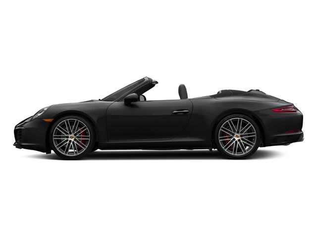 Black 2018 Porsche 911 Pictures 911 Carrera S Cabriolet photos side view