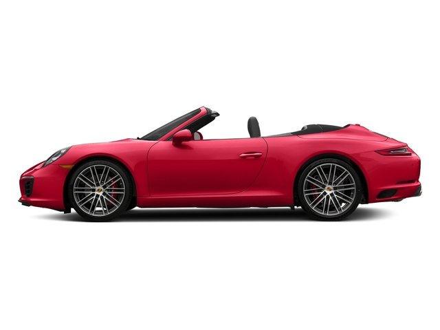 Guards Red 2018 Porsche 911 Pictures 911 Carrera S Cabriolet photos side view
