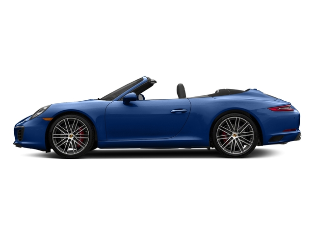 Sapphire Blue Metallic 2018 Porsche 911 Pictures 911 Carrera S Cabriolet photos side view