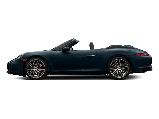 Night Blue Metallic 2018 Porsche 911 Pictures 911 Carrera S Cabriolet photos side view