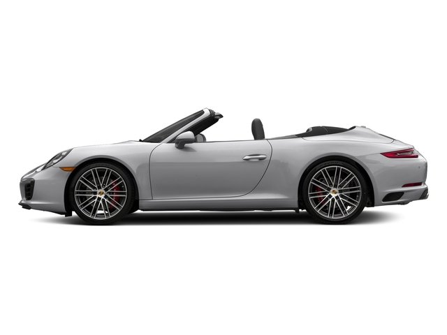 GT Silver Metallic 2018 Porsche 911 Pictures 911 Carrera S Cabriolet photos side view
