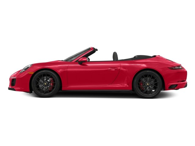 Guards Red 2018 Porsche 911 Pictures 911 Carrera GTS Cabriolet photos side view