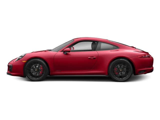 Carmine Red 2018 Porsche 911 Pictures 911 Carrera 4 GTS Coupe photos side view