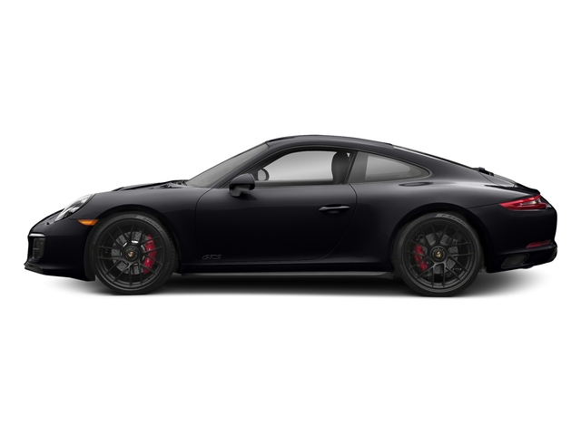 Jet Black Metallic 2018 Porsche 911 Pictures 911 Carrera 4 GTS Coupe photos side view
