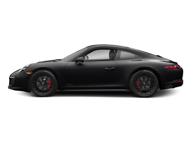 Black 2018 Porsche 911 Pictures 911 Carrera 4 GTS Coupe photos side view
