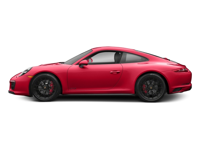 Guards Red 2018 Porsche 911 Pictures 911 Carrera 4 GTS Coupe photos side view