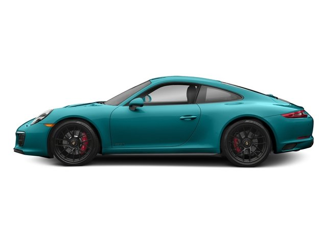 Miami Blue 2018 Porsche 911 Pictures 911 Carrera 4 GTS Coupe photos side view