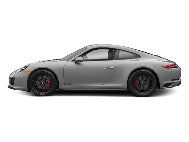 Rhodium Silver Metallic 2018 Porsche 911 Pictures 911 Carrera 4 GTS Coupe photos side view