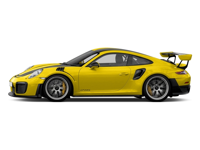 Racing Yellow 2018 Porsche 911 Pictures 911 GT2 RS Coupe photos side view