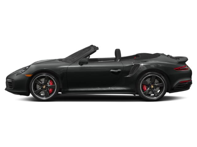 Jet Black Metallic 2018 Porsche 911 Pictures 911 Turbo S Cabriolet photos side view