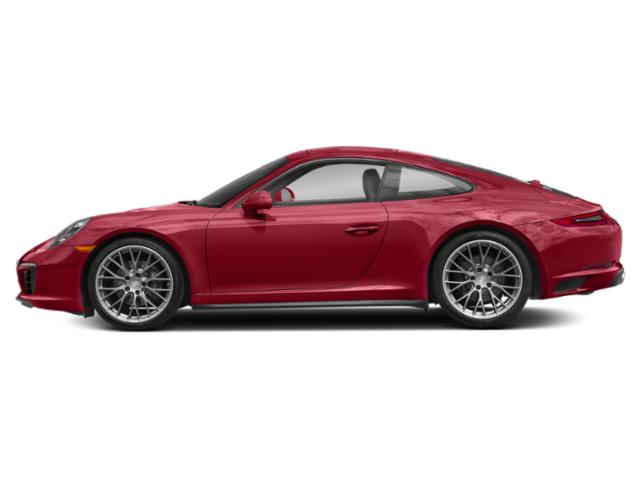 Carmine Red 2018 Porsche 911 Pictures 911 Coupe 2D 4 AWD H6 Turbo photos side view
