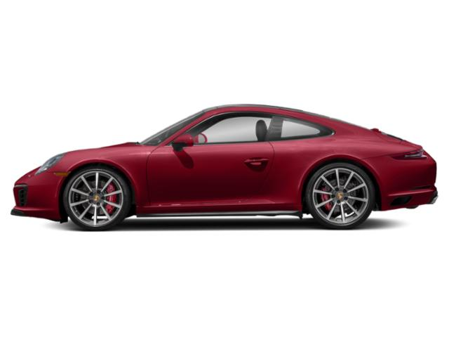 Carmine Red 2018 Porsche 911 Pictures 911 Coupe 2D 4S AWD H6 Turbo photos side view