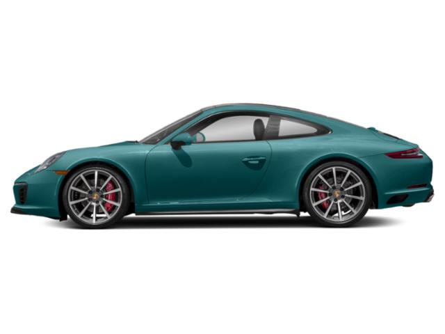 Miami Blue 2018 Porsche 911 Pictures 911 Coupe 2D 4S AWD H6 Turbo photos side view