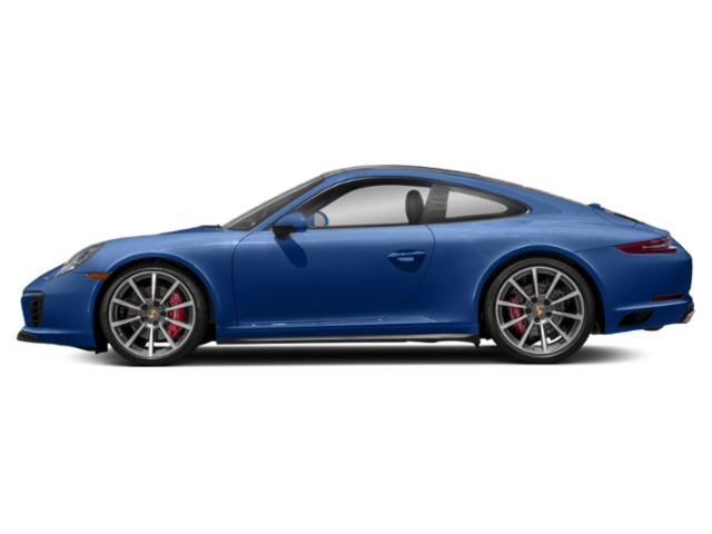 Sapphire Blue Metallic 2018 Porsche 911 Pictures 911 Coupe 2D 4S AWD H6 Turbo photos side view